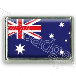Pins rectangle : Drapeau Australie