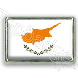 Pins rectangle : Drapeau Chypre