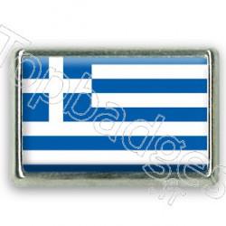 Pins rectangle : Drapeau Grèce