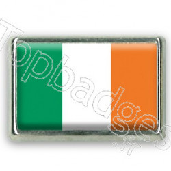Pins chromé drapeau Irlandais