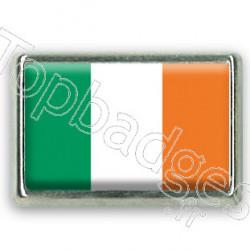 Pins rectangle : Drapeau Irlande
