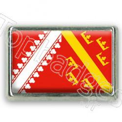 Pins rectangle : Drapeau Alsace