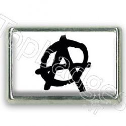 Pins rectangle : Drapeau anarchie