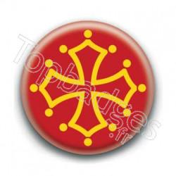 Badge drapeau des Midi-Pyrénées