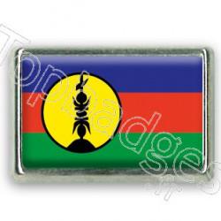 Pins chromé drapeau de la Nouvelle Calédonie