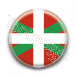 Badge drapeau Basque