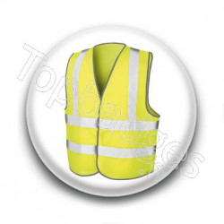 Badge : Gilet jaune