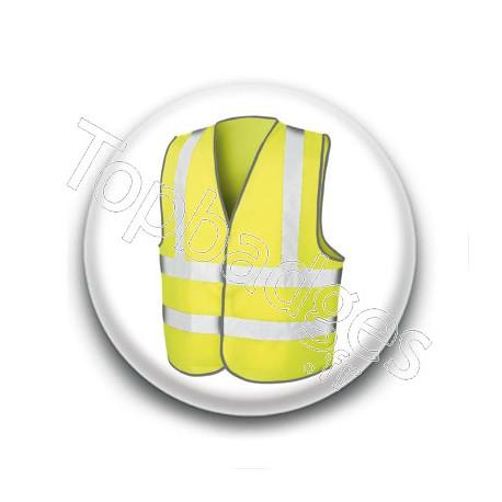 Badge : Gilet jaune