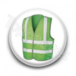 Badge Gilet Vert