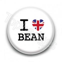 Badge : I love Bean