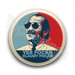 Badge : Yes Claudy Focan, François Damiens