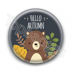 Badge : Hello Autumn, ours