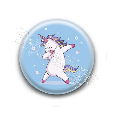 Badge : Licorne dab