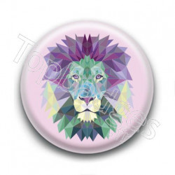 Badge : Lion graphique