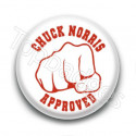 Badge : Chuck Norris approved