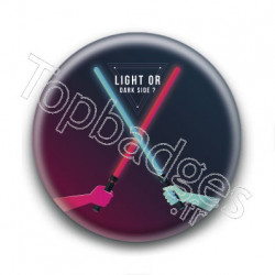 Badge : Light or dark side ?
