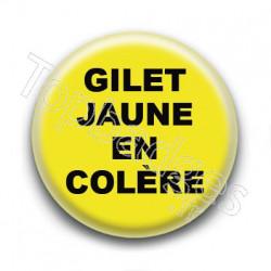 Badge : Gilets jaunes, en colère