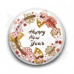 Badge : Happy new year, Chine
