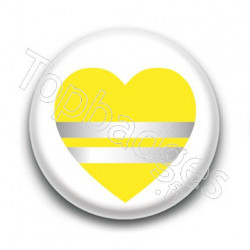 Badge : Love gilets jaunes