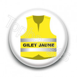 Badge : Je suis gilet jaune