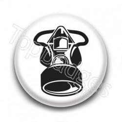 Badge : Masque à gaz simple