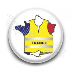 Badge : Gilets jaunes, France