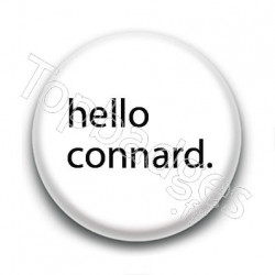 Badge : Hello connard