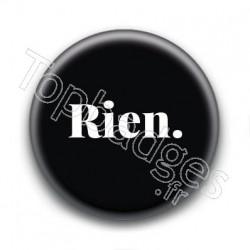 Badge : Rien