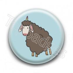 Badge : Mouton licorne