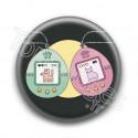 Badge : Tamagotchi chien et chat