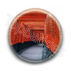 Badge : Allée de toriis