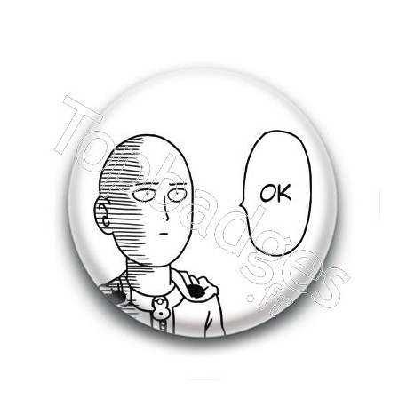 Badge : OK, One Punch Man