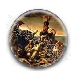 Badge : Le Radeau de La Méduse, Théodore Géricault