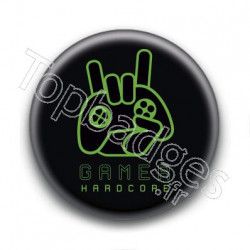 Badge : Gamer Hardcore