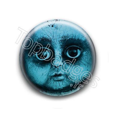Badge : Poupée effrayante