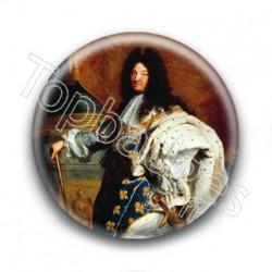 Badge : Louis XIV en costume de sacre, Hyacinthe Rigaud