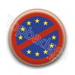 Badge Non à l'Europe