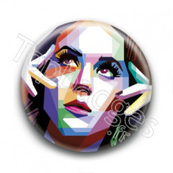 Badge : Graphique, chanteuse Katy Perry