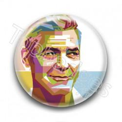 Badge : Graphique, acteur George Clooney