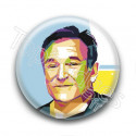 Badge : Graphique, acteur Robin Williams