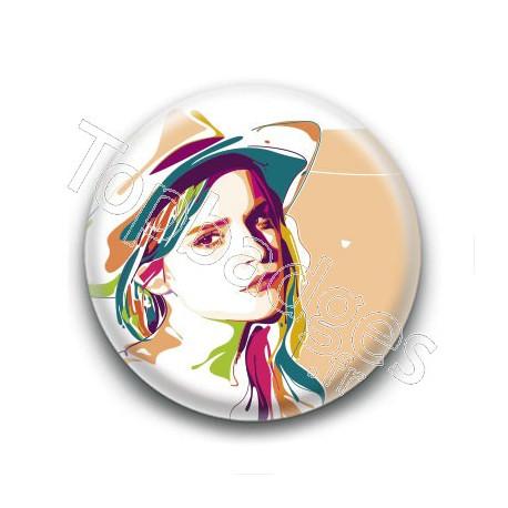 Badge : Graphique, actrice Emma Watson