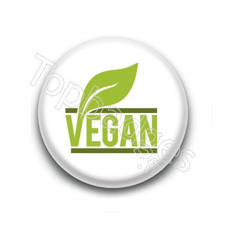 Badge : Vegan