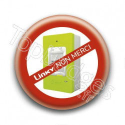 Badge : Linky non merci !