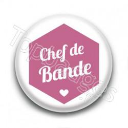 Badge : Hexagone rose, Chef de Bande