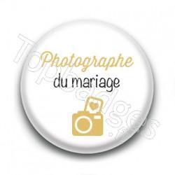Badge : Picto, Photographe du mariage
