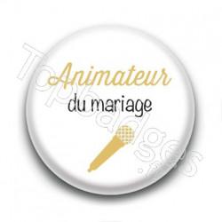Badge : Picto, Animateur du mariage