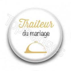 Badge : Picto, Traiteur du mariage