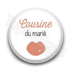 Badge : Picto, Cousine du marié