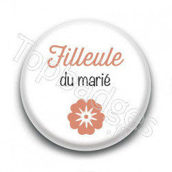 Badge : Picto, Filleule du marié