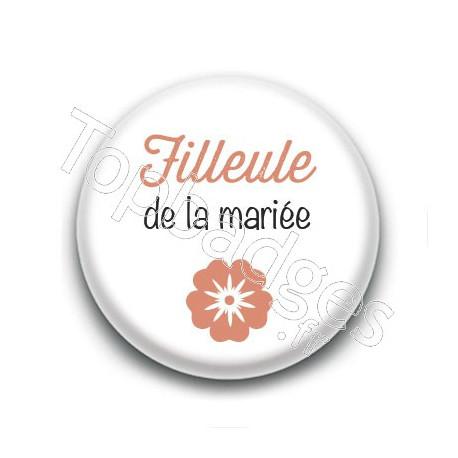Badge : Picto, Filleule de la mariée